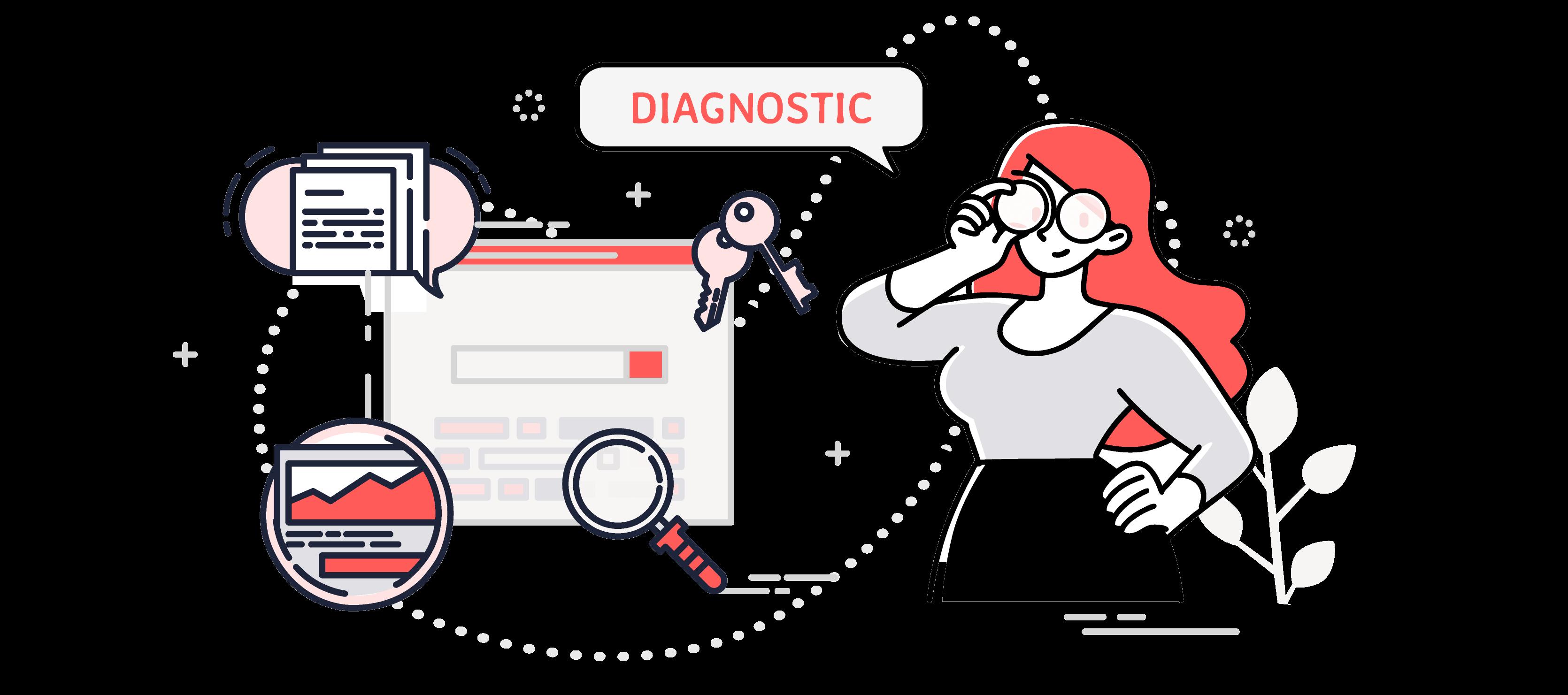 Diagnostic digital - OUI Are Web Agence de stratégie digitale Bruxelles