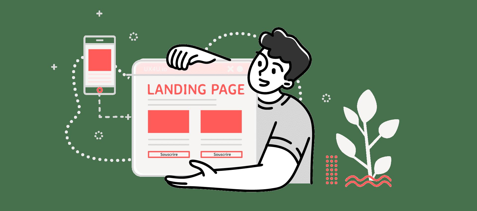 Maquettes et landing pages - OUI Are Web agence webmarketing bruxelles