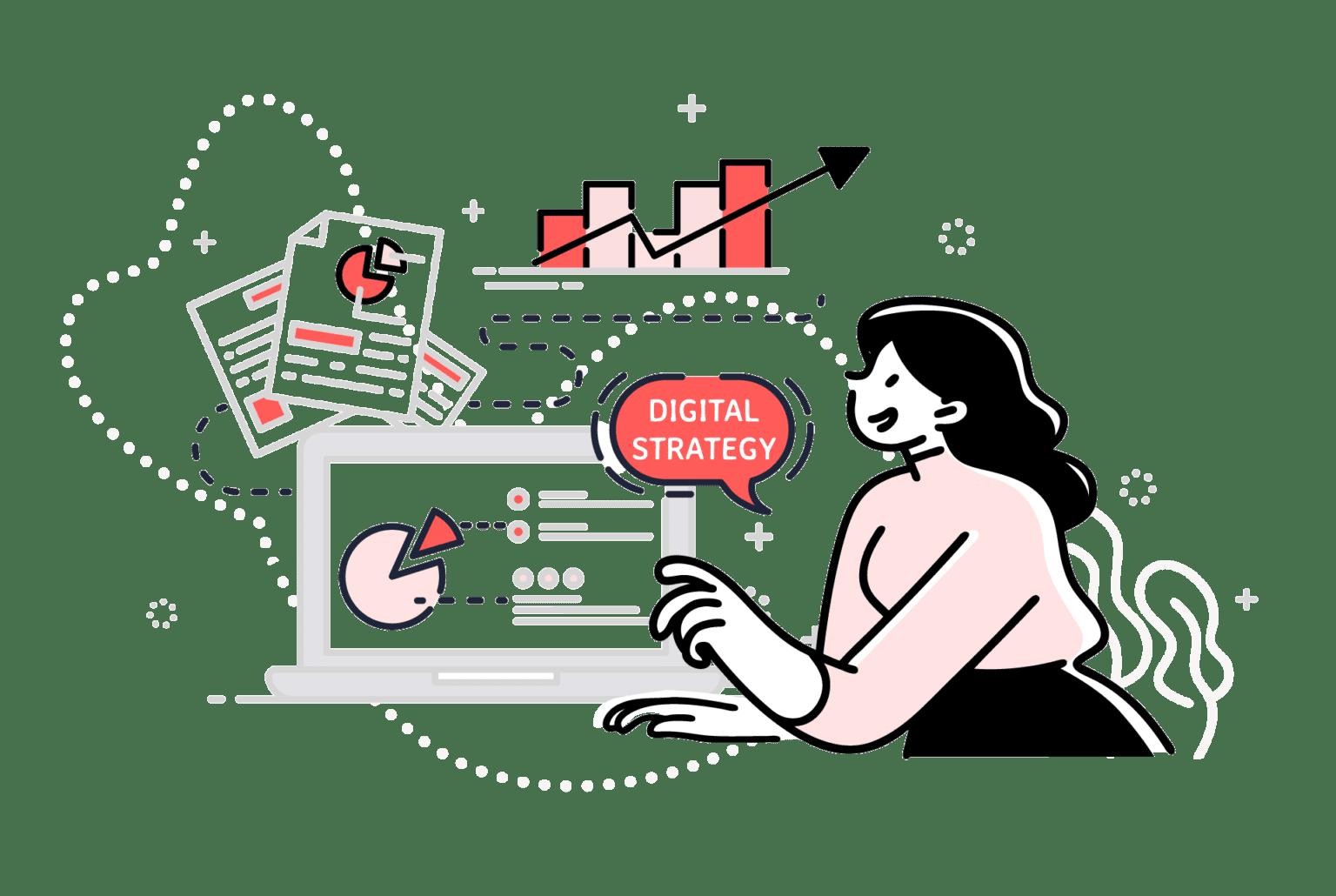 Stratégie digitale - OUI Are Web Agence de stratégie digitale Bruxelles